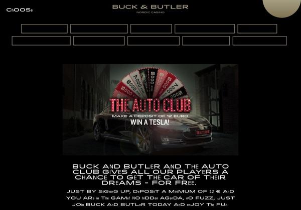 Buckandbutler Promotions Offer