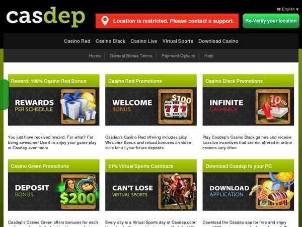 Casdep Casino Reviews