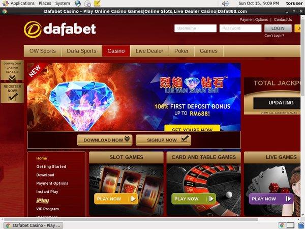 Dafabet Online Roulette