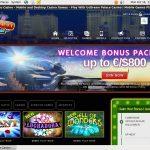 Signup Bonus Dream Palace Casino