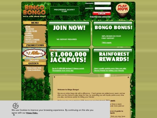 Deposit Paypal Bingobongo