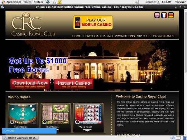 Royal Casino Club Moneybookers