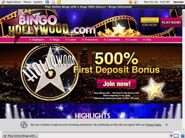Bingo Hollywood 赌场