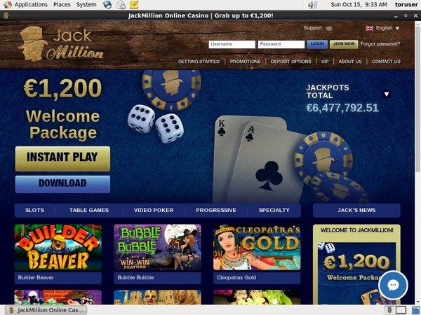Jackmillion Real Money Paypal
