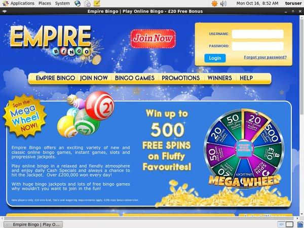 Empirebingo For Real Money