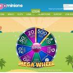 Bingo Minions サインアップボーナス