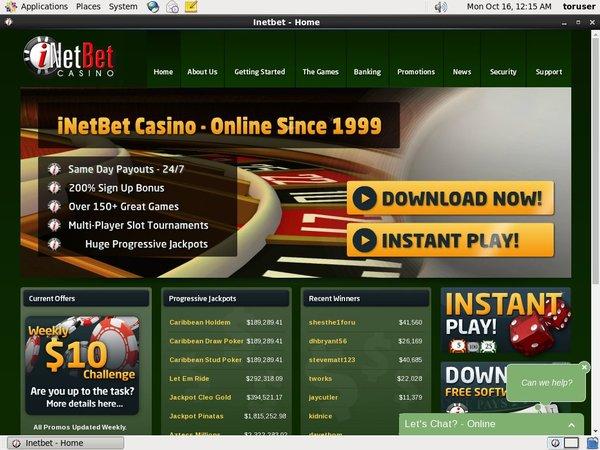 Download INetBet Casino App