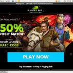 Ragingbull Casino Bonus