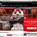 Joining Royal Panda Bonus