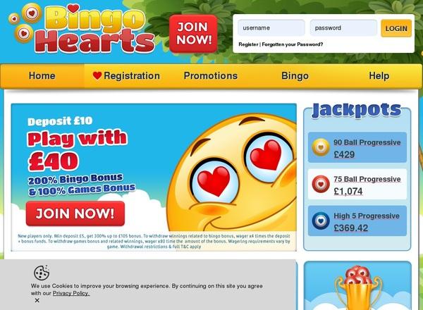 Bingo Bingo Hearts