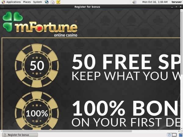 Mfortune 300 Euro Bonus