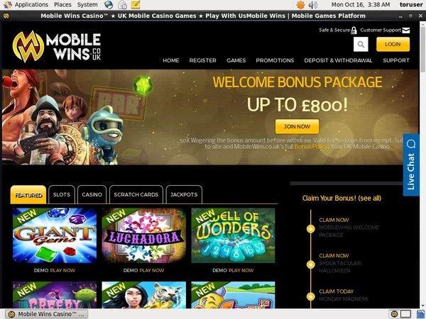 Mobile Wins Com Casino