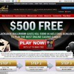 Blackjackballroom No Wagering
