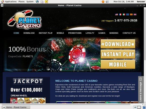 Planet Casino Dotpay