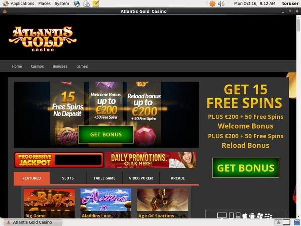 Atlantisgold Online Casino Schweiz