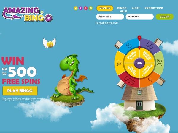Amazing Bingo Withdrawal