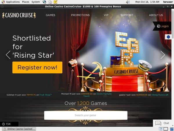 Casino Cruise Bonus Money