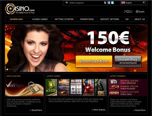 Casino.com Transfer
