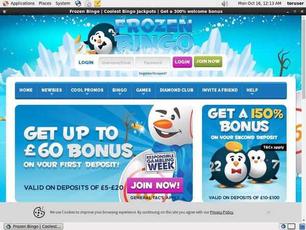 Frozen Bingo Opret Dig Nu
