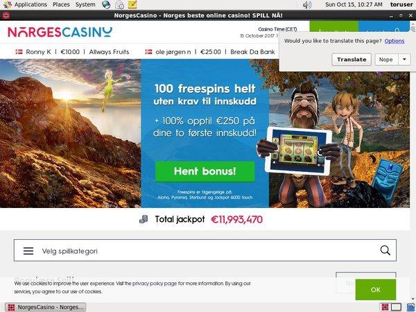 Norges Casino Bonus Spins
