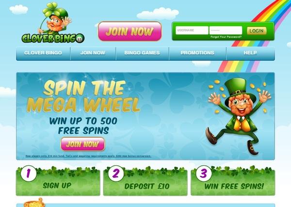 Clover Bingo Casino Login